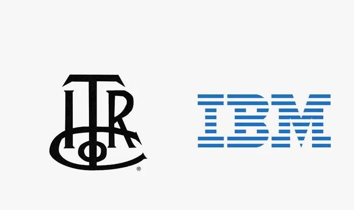 Logo ibm prima e dopo