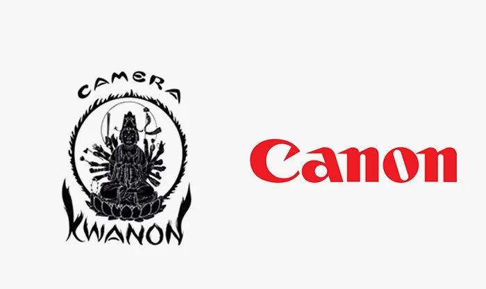 Logo canon prima e dopo