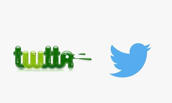 Logo twitter prima e dopo