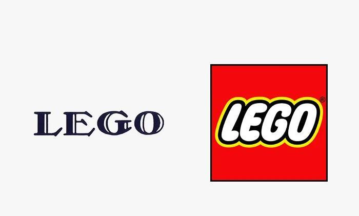 Logo lego prima e dopo