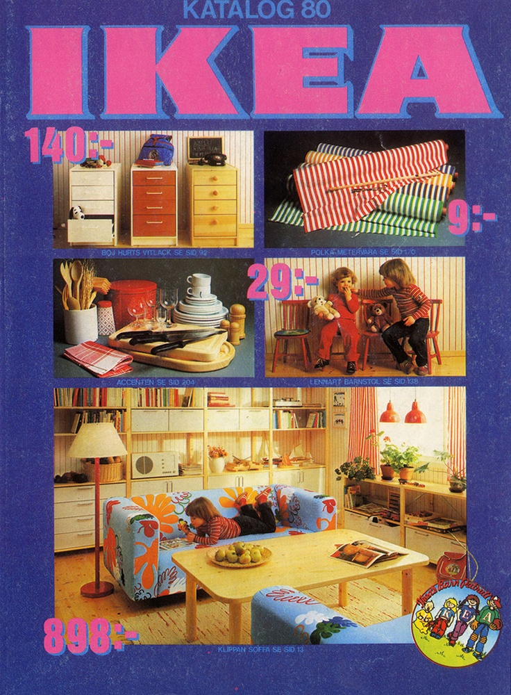 IKEA catalog 1980